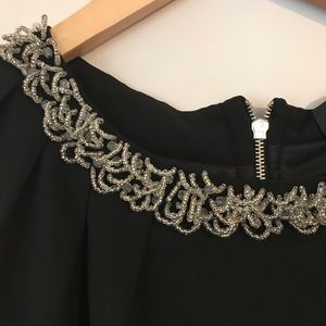 Like new beaded black dress